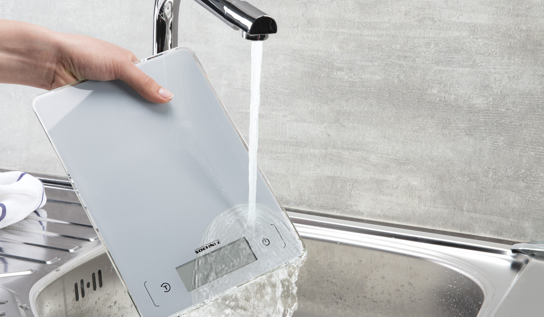 Anwendung Soehnle Küchenwaage Page Aqua Proof