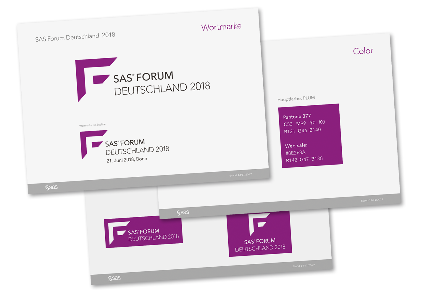 P12 Referenz SAS Forum 2018 Styleguide Messe