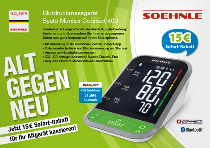 P12 Referenz Soehnle Alt gegen Neu Kampagne 2018 Anzeige Fachmagazin