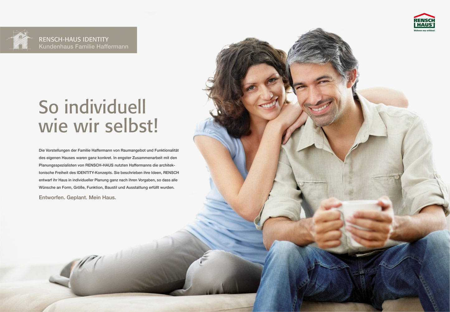 P12-Werbeagentur Referenz RENSCH-Haus Imagebroschuere Moodbild