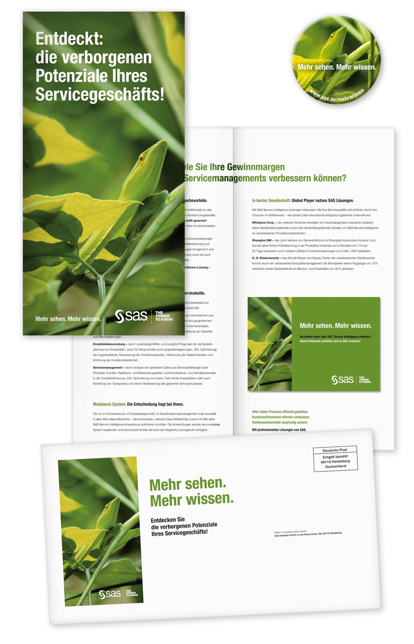 P12 Werbeagentur Heidelberg Referenz SAS Unternehmensweite Datenanalyse Mailing Stufe Schlange