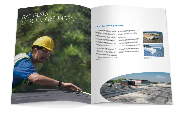 P12 Werbeagentur Heidelberg Referenz KALZIP Mittelstandskampagne Innen