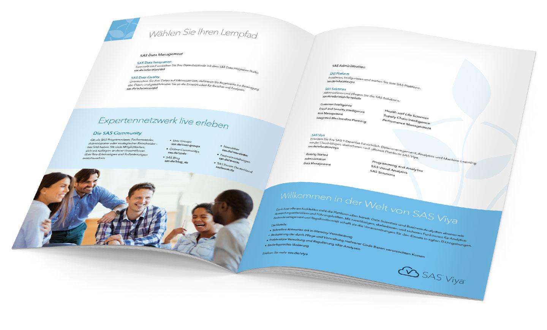 P12 Werbeagentur Heidelberg Referenz SAS Education Anwender Inhalt