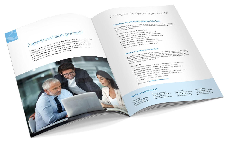 P12 Werbeagentur Heidelberg Referenz SAS Education Manager Inhalt