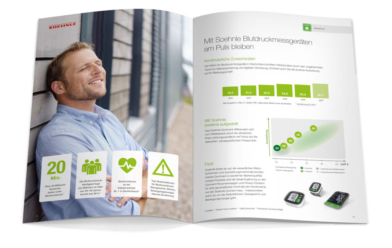 P12 Werbeagentur Heidelberg Referenz SOEHNLE Salesfolder Connect Inhalt