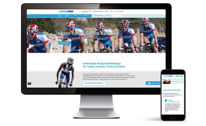 P12-Werbeagentur Heidelberg Website-Referenz Vereinstrikots Shop 02