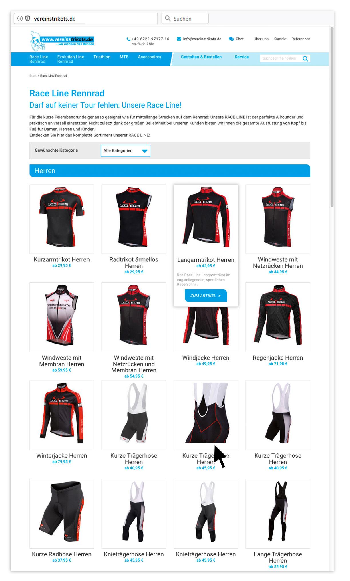 P12-Werbeagentur Referenz Vereinstrikots Shop04