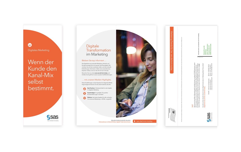 P12 Referenze: DirektMailing für SAS DigitalMarketing 2015-1