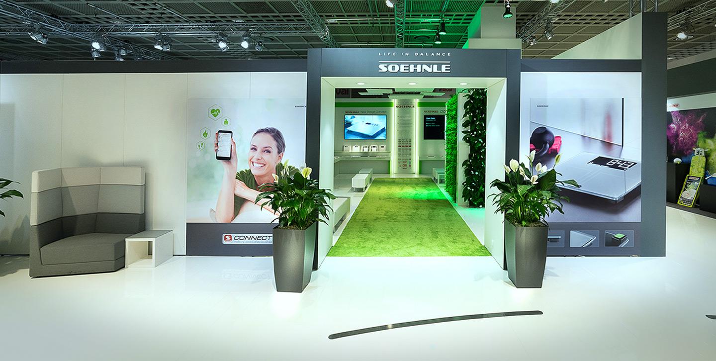 P12-Werbeagentur | SOEHNLE Messeausstattung auf Ambiente2017-foto1