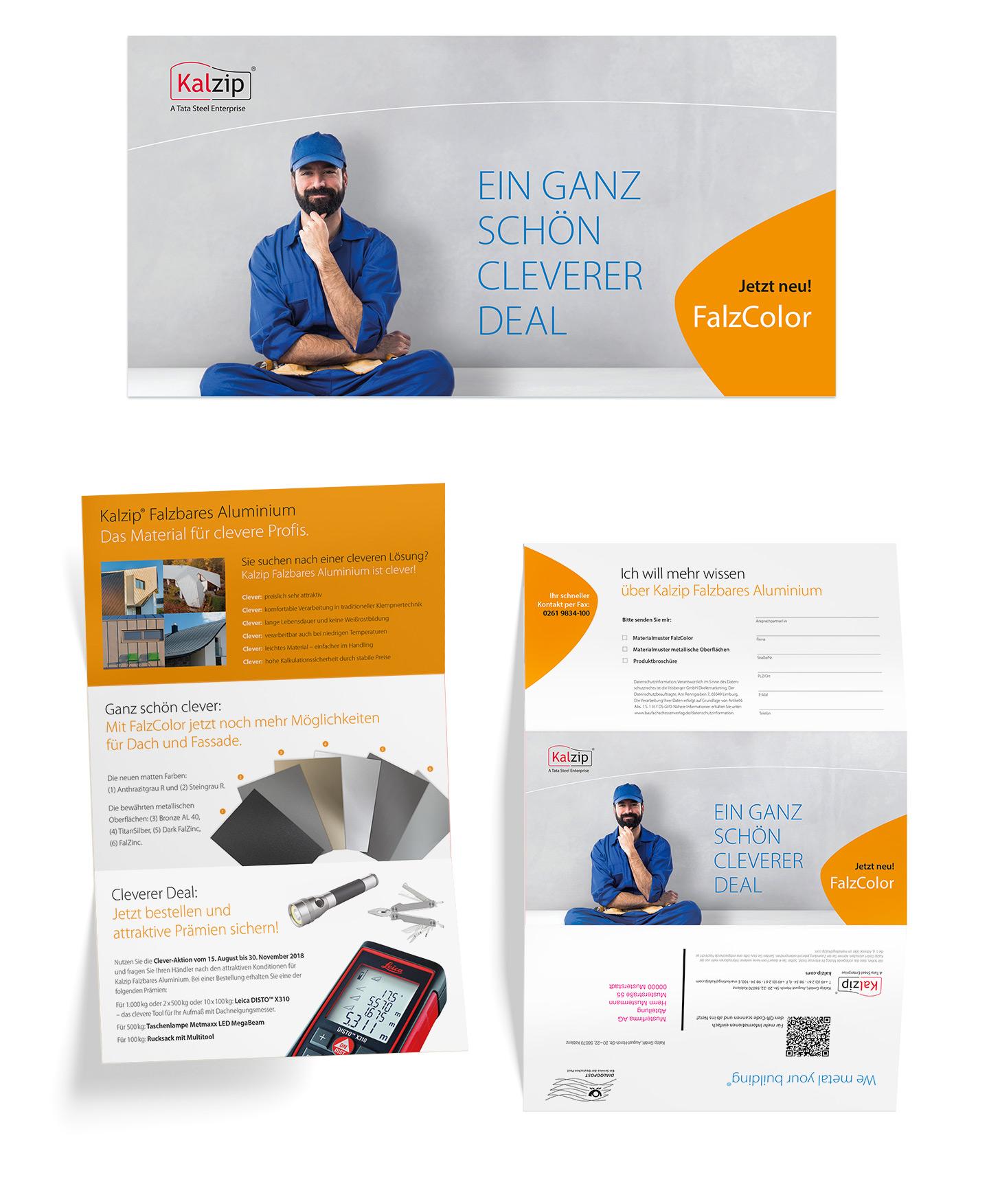 P12-Werbeagentur Heidelberg Referenz KALZIP Mailing Verarbeiter