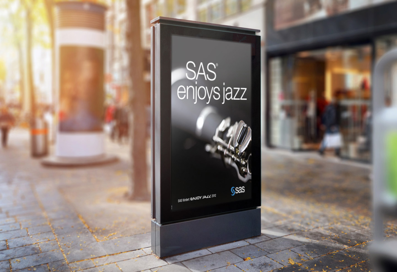P12-Werbeagentur für SAS EnjoysJazz 2012 in Rhein-Neckar-Kreis