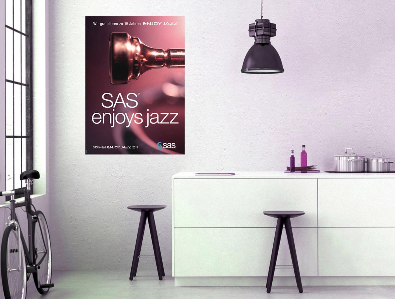 P12-Werbeagentur für SAS-EnjoyJazz 2013 in Heidelberg
