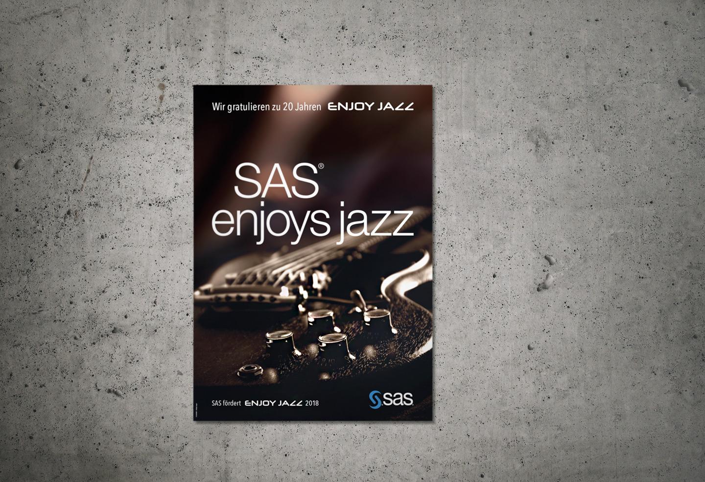 P12-Werbeagentur-Keyvisual für SAS-EnjoyJazz-2018