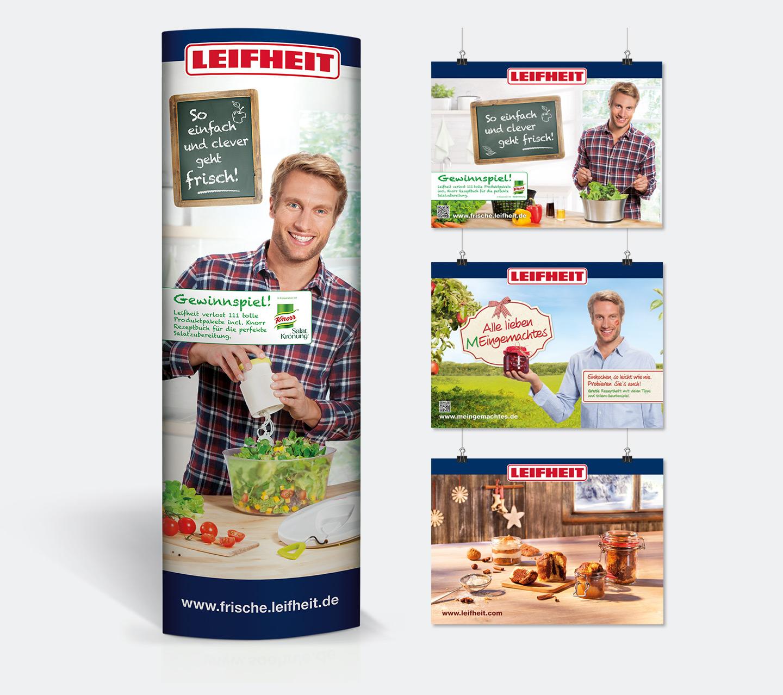 P12-Werbeagentur-Heidelberg POS Ellipse-Banner für Leifheit