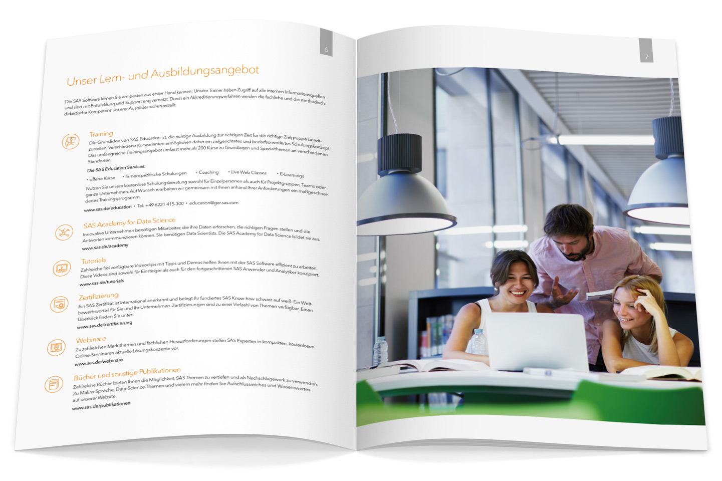 P12-Werbeagentur bei Heidelberg Referenz SAS B2B-Infobroschuere seite3