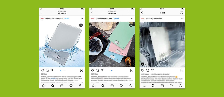 P12-Werbeagentur Social-Media Content Creation Visuals und Video Sohnle